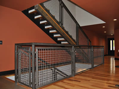 Wire Cloth Infill Panel For Fence Partition Stair
